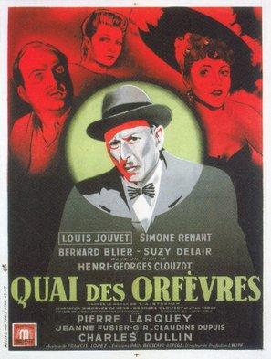 Quai des Orfèvres - French Movie Poster (thumbnail)