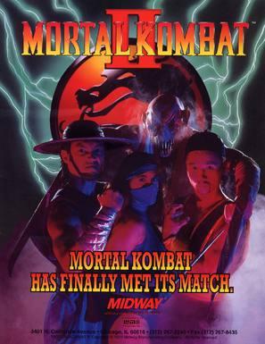 Mortal Kombat II - Movie Poster (thumbnail)