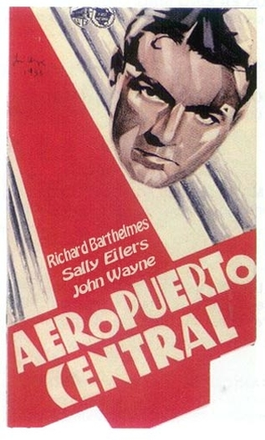 Central Airport - Spanish Movie Poster (thumbnail)