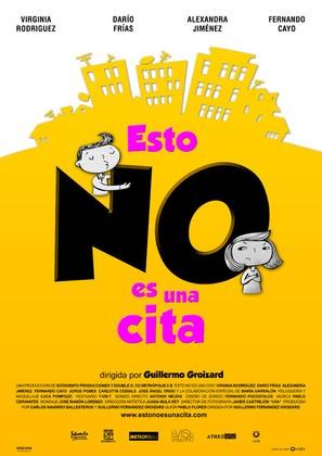 Esto no es una cita - Spanish Movie Poster (thumbnail)