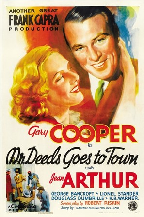Mr. Deeds Goes to Town - Theatrical movie poster (thumbnail)
