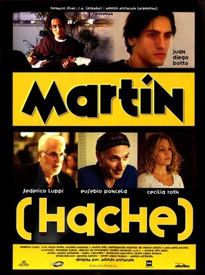 Martín (Hache) - Spanish Movie Poster (thumbnail)