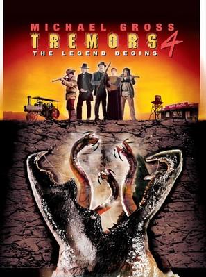 Tremors 4 - DVD movie cover (thumbnail)