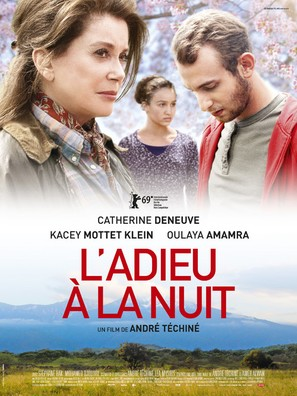 L'adieu à la nuit - French Movie Poster (thumbnail)