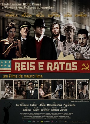 Reis e Ratos - Brazilian Movie Poster (thumbnail)