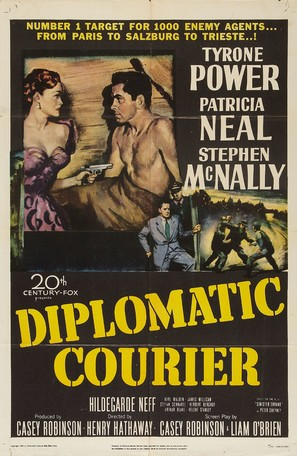 Diplomatic Courier - Movie Poster (thumbnail)
