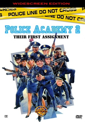 Police Academy 2: Their First Assignment - DVD movie cover (thumbnail)