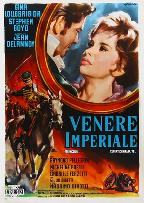 Venere imperiale - Italian Movie Poster (thumbnail)