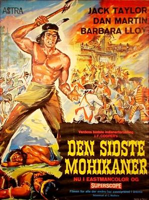 Uncas, el fin de una raza - Swedish Movie Poster (thumbnail)
