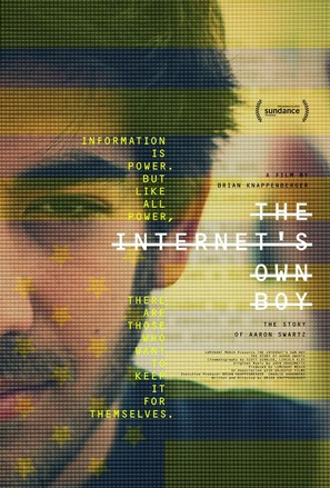 The Internet's Own Boy: The Story of Aaron Swartz - Movie Poster (thumbnail)