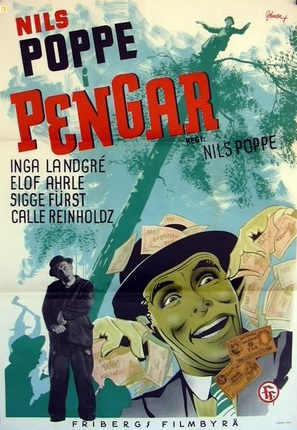 Pengar - en tragikomisk saga - Swedish Movie Poster (thumbnail)