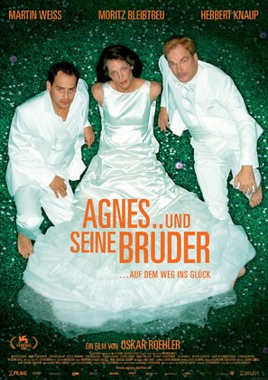 Agnes und seine Brüder - German Movie Poster (thumbnail)
