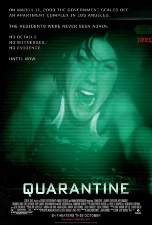 Quarantine - Movie Poster (thumbnail)