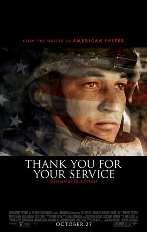 Thank You for Your Service - Teaser movie poster (thumbnail)