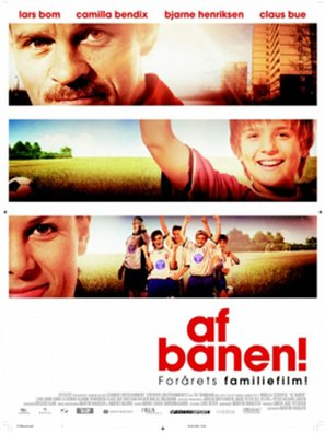 Af banen! - Danish poster (thumbnail)
