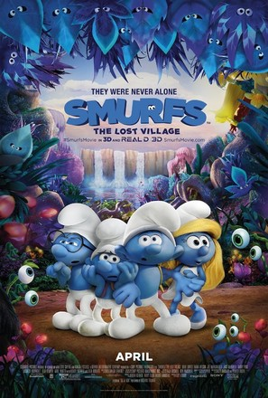 Smurfs: The Lost Village - Movie Poster (thumbnail)