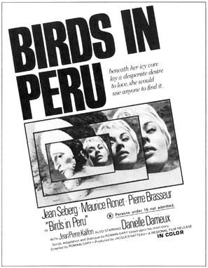 Les oiseaux vont mourir au Pérou - Movie Poster (thumbnail)