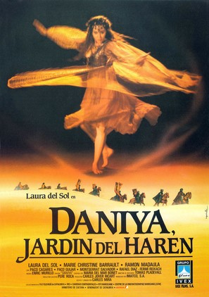 Daniya, jardín del harem - Spanish Movie Poster (thumbnail)