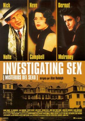 Investigating Sex - Spanish Movie Poster (thumbnail)