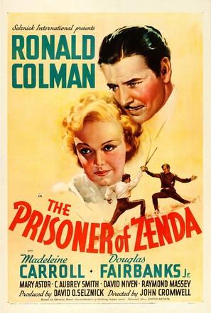 The Prisoner of Zenda - Movie Poster (thumbnail)