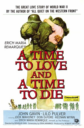 A Time to Love and a Time to Die - Movie Poster (thumbnail)