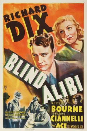 Blind Alibi - Movie Poster (thumbnail)