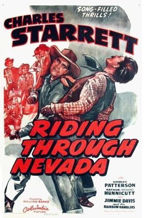 Riding Through Nevada