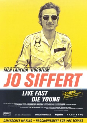 Jo Siffert: Live Fast - Die Young - Swiss poster (thumbnail)