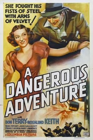 A Dangerous Adventure - Movie Poster (thumbnail)