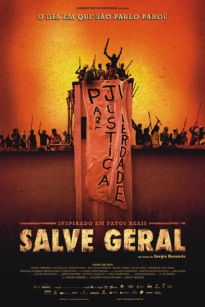 Salve Geral - Brazilian Movie Poster (thumbnail)