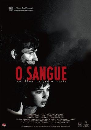 O Sangue - Portuguese Movie Poster (thumbnail)