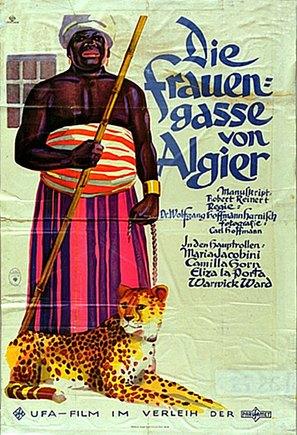 Die Frauengasse von Algier