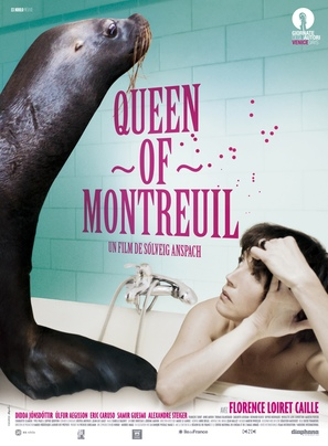 Queen of Montreuil - French Movie Poster (thumbnail)