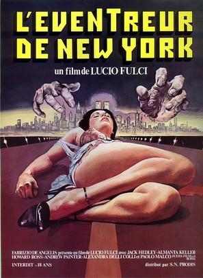 Lo squartatore di New York - French Movie Poster (thumbnail)