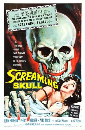 The Screaming Skull - Movie Poster (thumbnail)