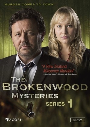 """""""The Brokenwood Mysteries"""" - DVD cover (thumbnail)"""