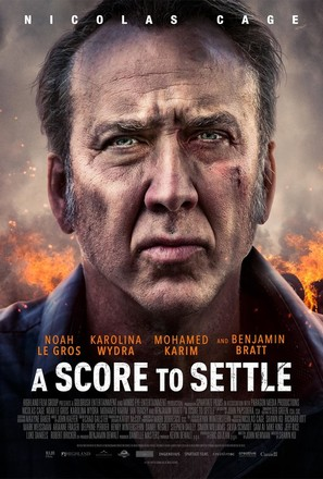 A Score to Settle - Canadian Movie Poster (thumbnail)