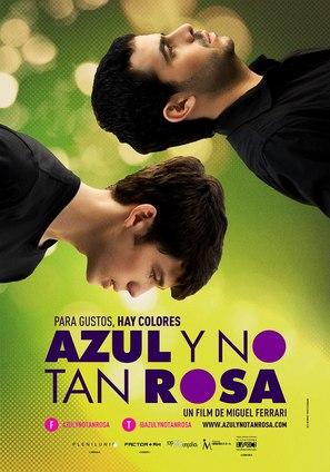 Azul y no tan rosa - Venezuelan Movie Poster (thumbnail)
