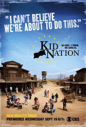 """""""Kid Nation"""" - poster (thumbnail)"""