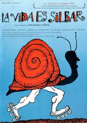 La vida es silbar - Spanish Movie Poster (thumbnail)
