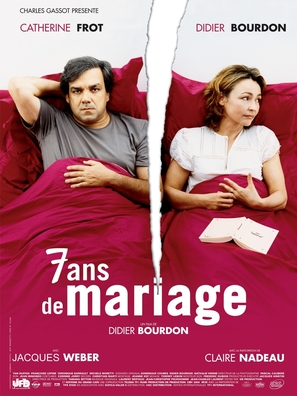 7 ans de mariage - French Movie Poster (thumbnail)