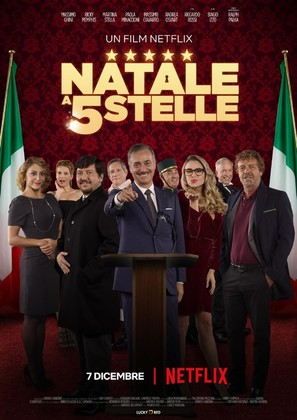 Natale a cinque stelle - Italian Movie Poster (thumbnail)