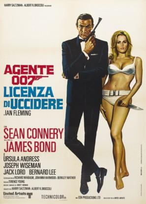 Dr. No - Italian Movie Poster (thumbnail)