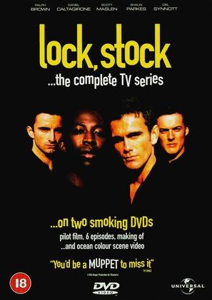 """Lock, Stock..."" - British DVD cover (thumbnail)"