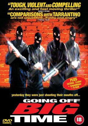 Going Off Big Time - British Movie Cover (thumbnail)