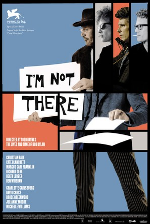 I'm Not There - Swiss Movie Poster (thumbnail)