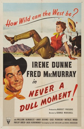 Never a Dull Moment - Movie Poster (thumbnail)
