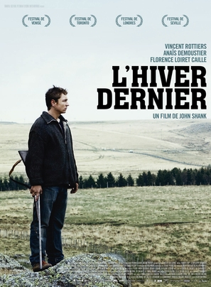 L'hiver dernier - French Movie Poster (thumbnail)