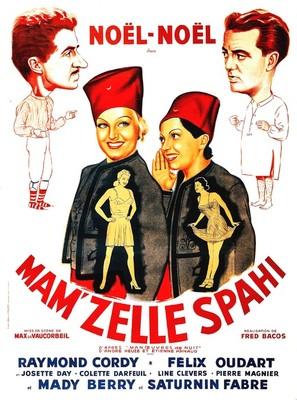 Mam'zelle Spahi - French Movie Poster (thumbnail)