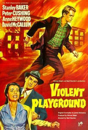 Violent Playground - British Movie Poster (thumbnail)